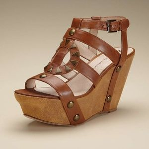 House of Harlow 1960 Fannie Wedge Sandals